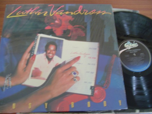 LUTHER VANDROSS - BUSY BODY - EPIC 1983